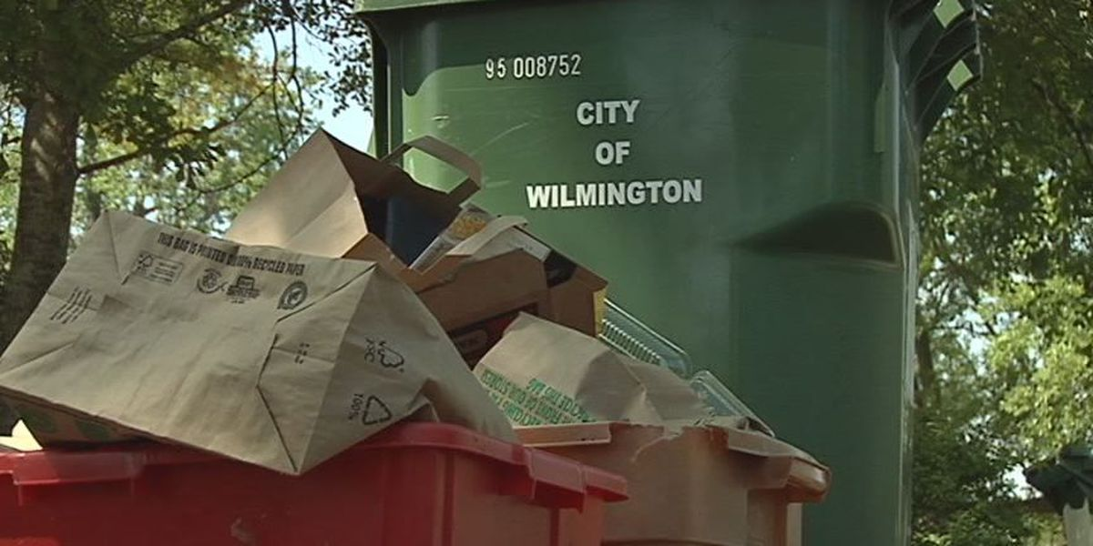 No trash pickup for Wilmington, Brunswick County residents