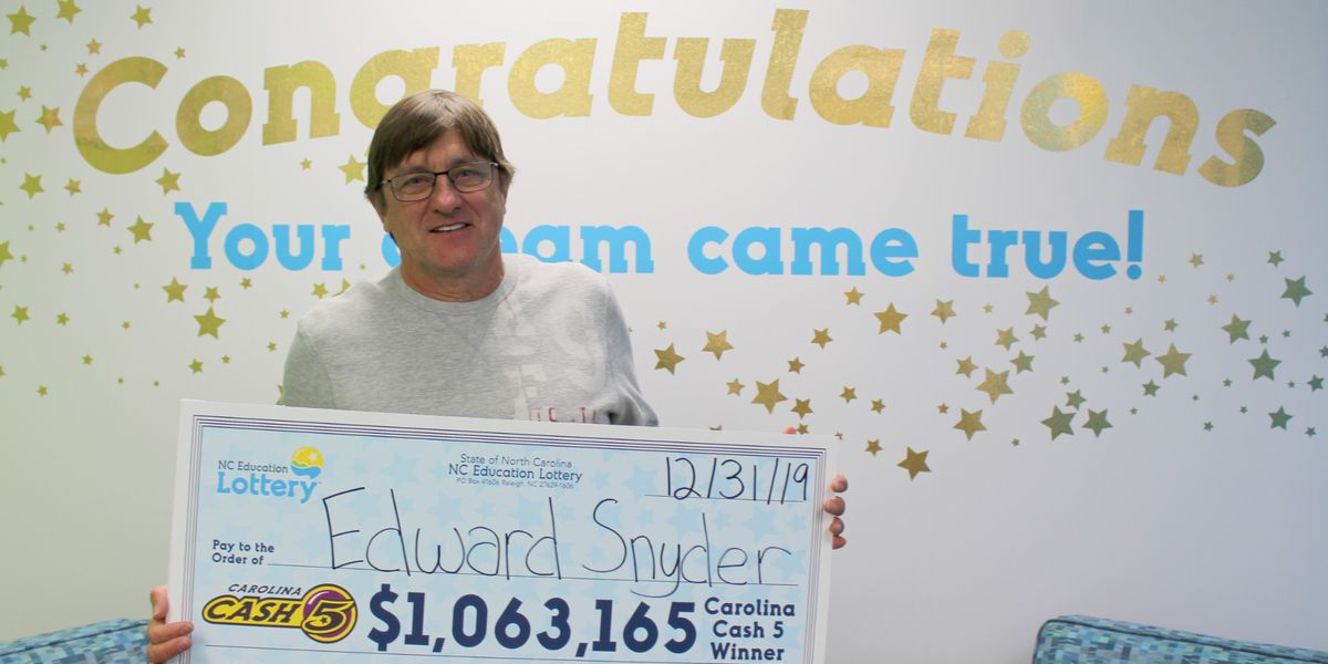 Mecklenburg County man wins $1 million Cash 5 jackpot just in time for New Year's