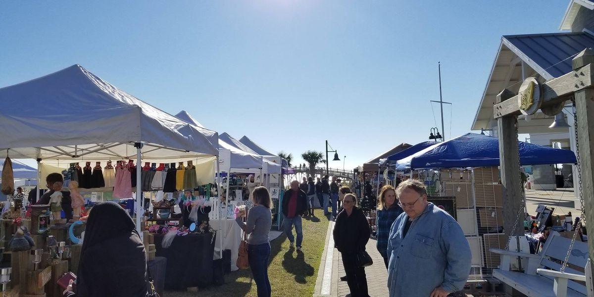 Kure Beach hosts annual holiday market