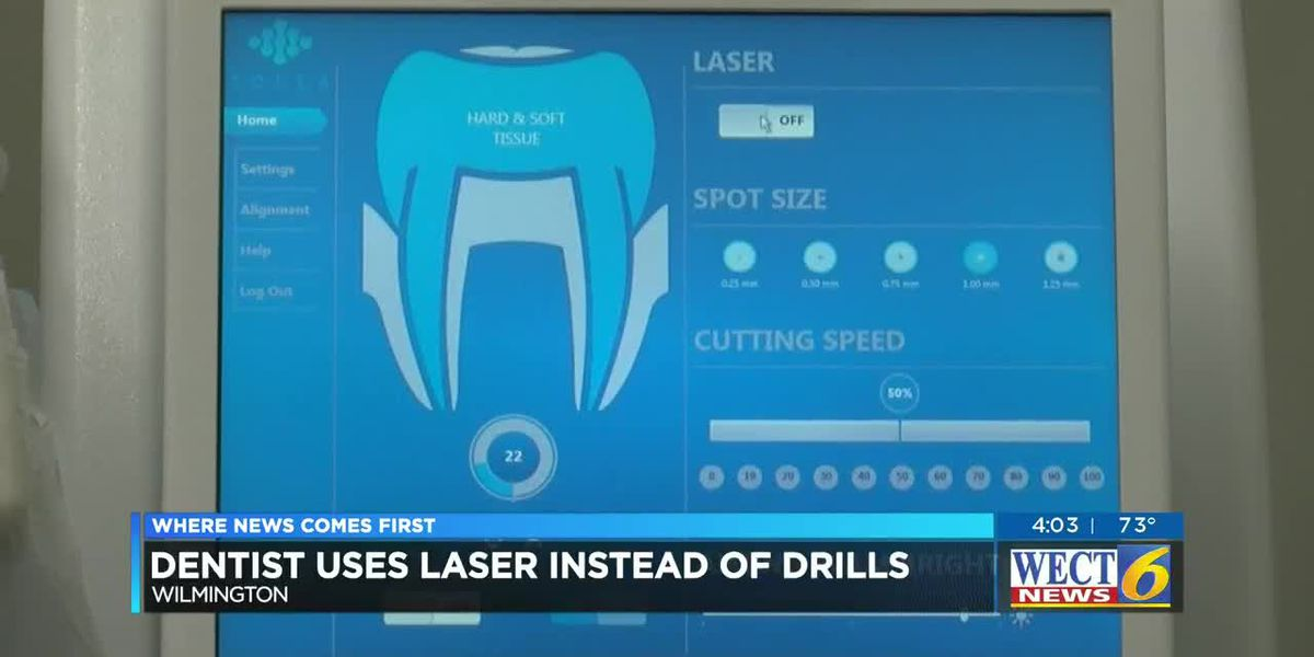 Wilmington dentist uses laser technology instead of drills