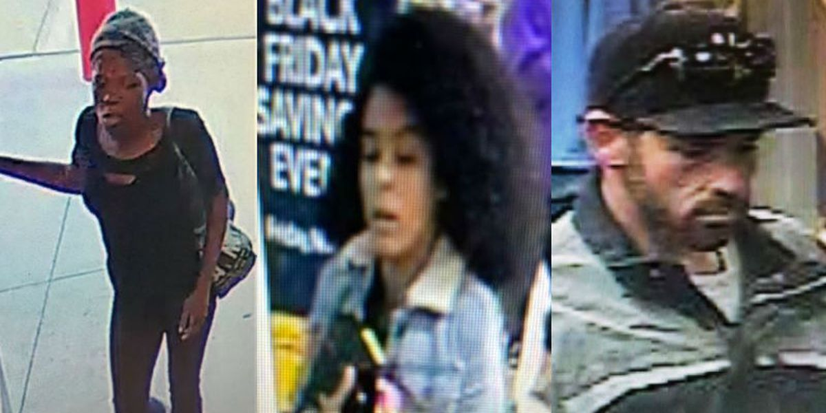 WPD looking for suspects in larceny cases