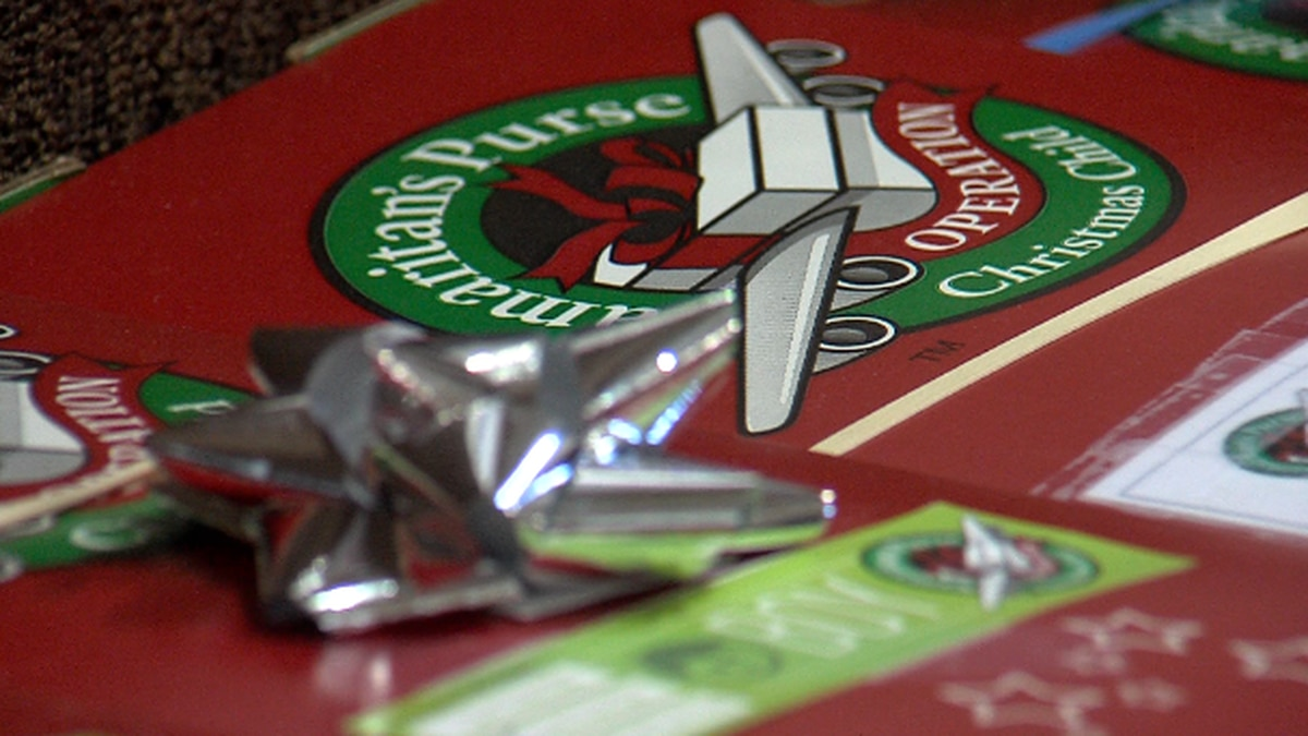 Christmas in October? Church prepares for Operation Christmas Child