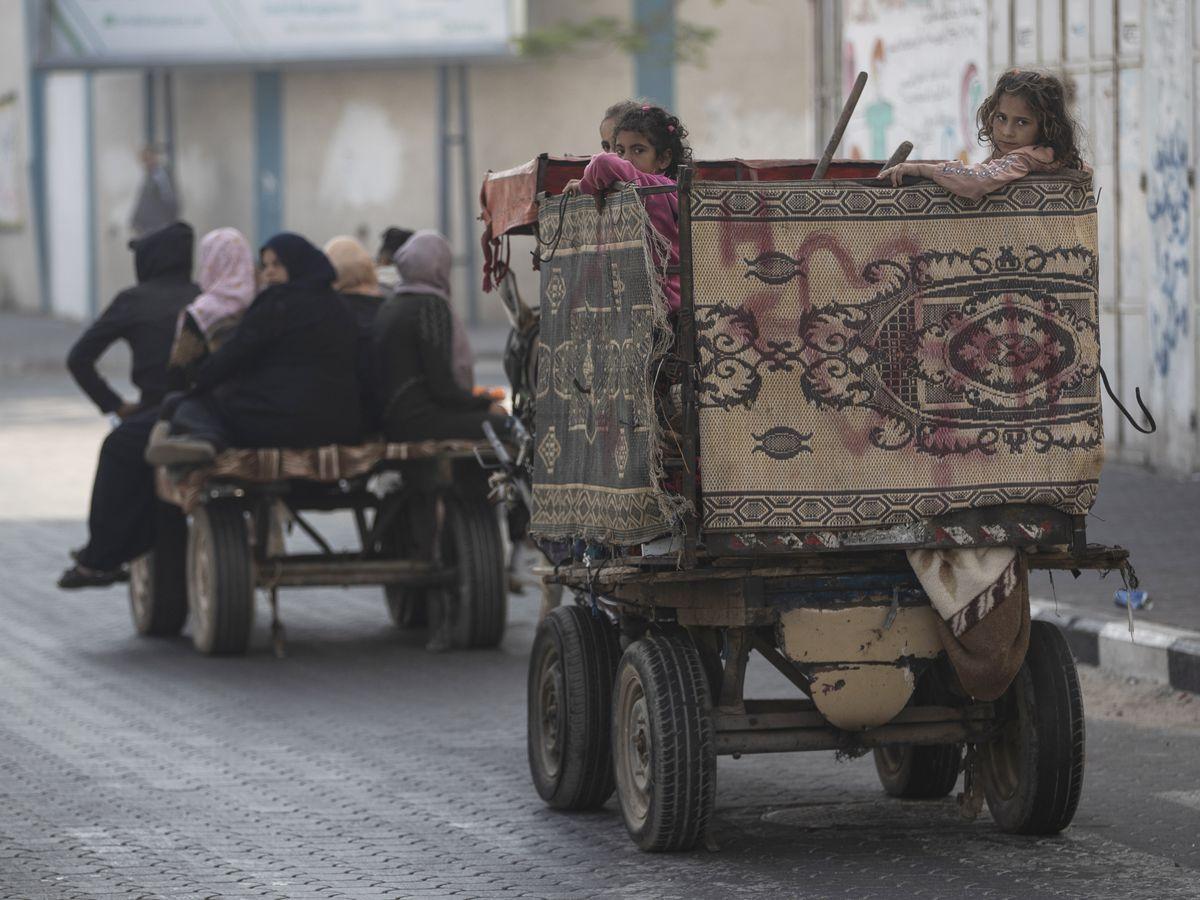 Israel strikes Gaza home of Hamas leader, destroys AP office