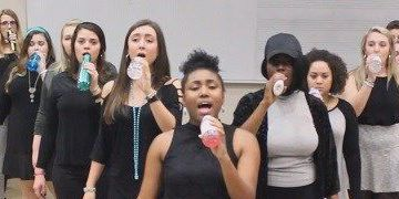 UNCW Seabelles join talented a cappella groups from around NC at Acapalooza performance