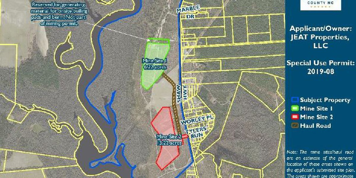 Pender Co. commissioners postpone decision on company's permit request for sand mine