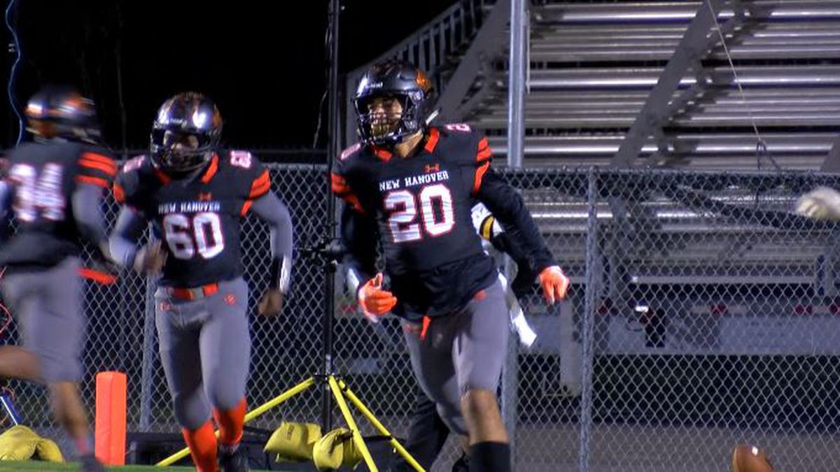 New Hanover's Jason Billingslea named WECT Athlete of the Week