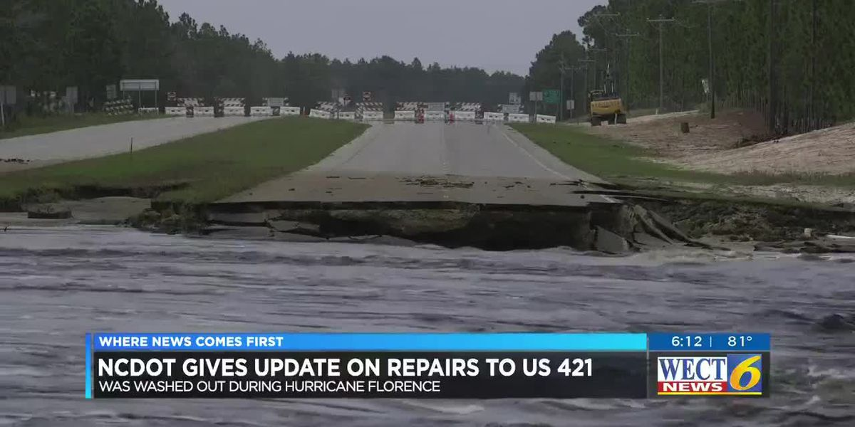 TRAFFIC ALERT: Traffic shift planned for US 421 at Pender-New Hanover line