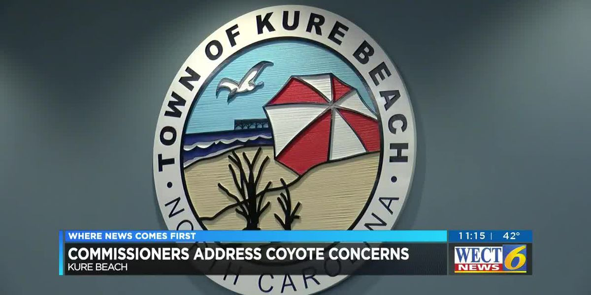 Kure Beach Commissioners address coyote concerns