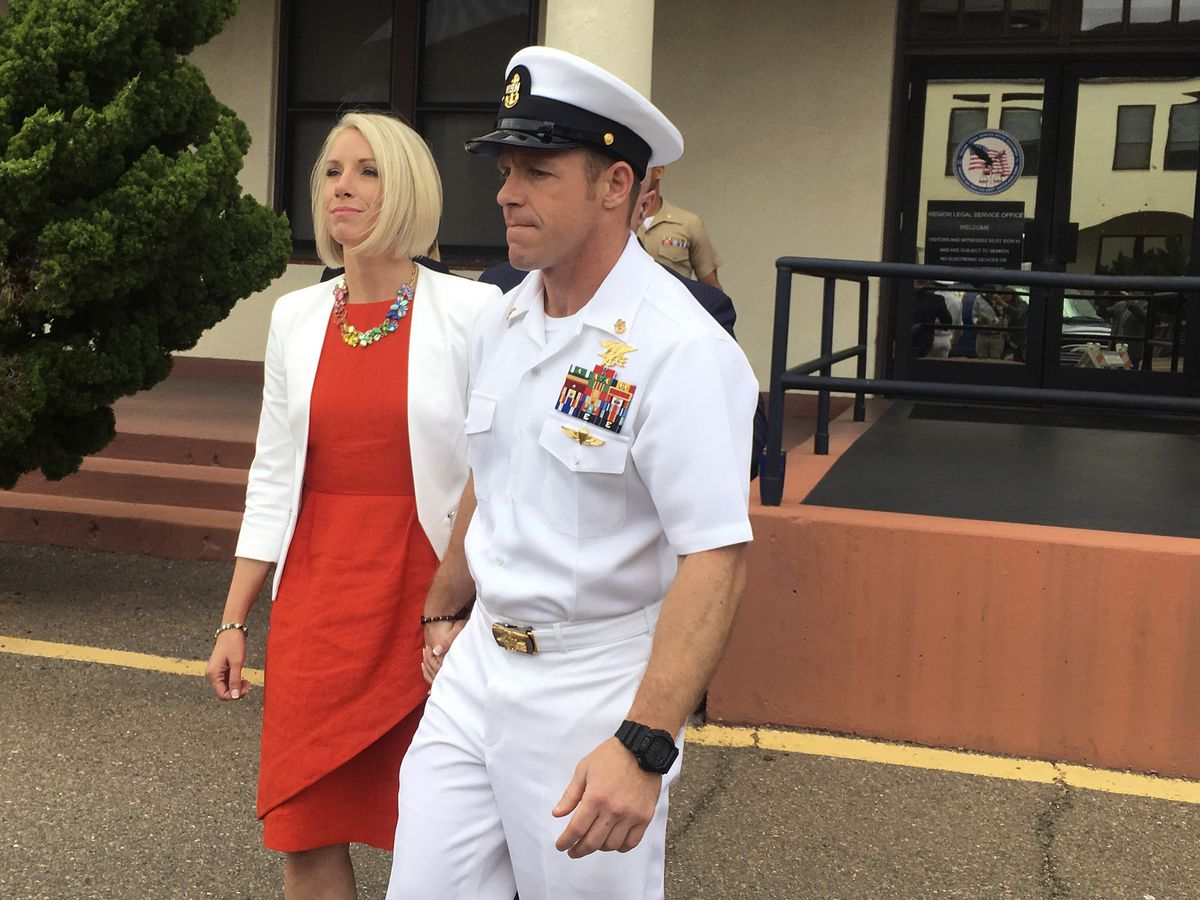 Combat vets in jury pool for decorated Navy SEAL's trial