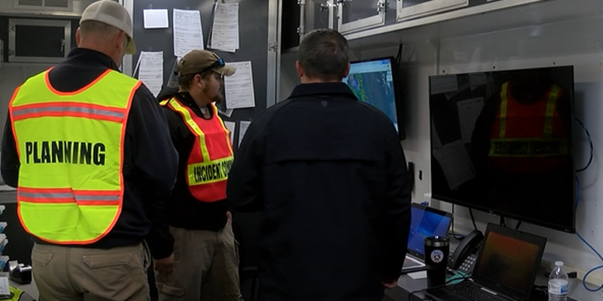 First responders across the state train in Pender County