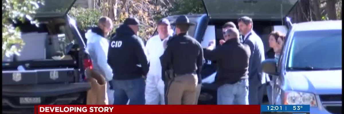 LIVE AT MIDDAY: Man suspected in stabbing deaths arrested after chase
