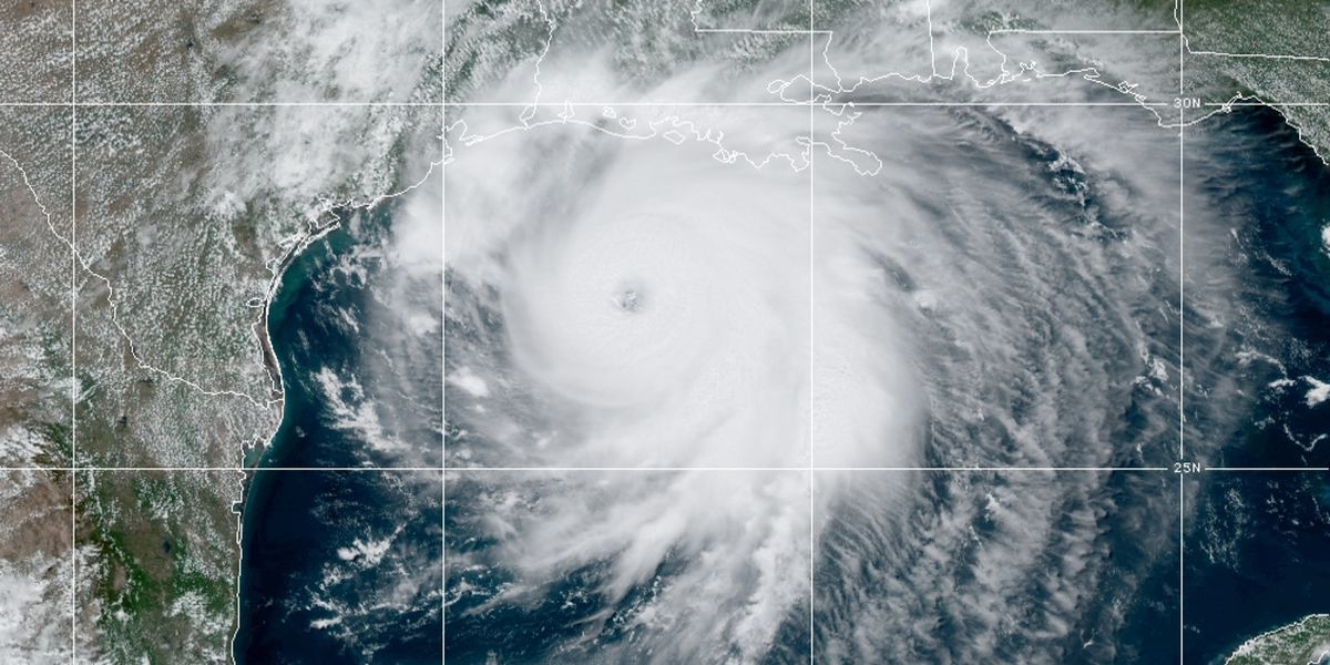 Laura makes landfall in southwestern Louisiana near Texas as a Cat. 4 hurricane