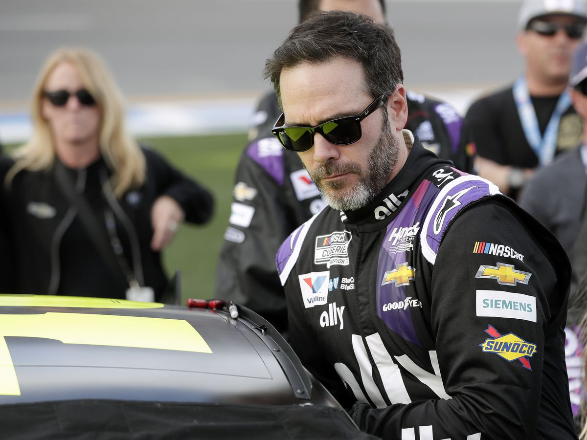 Jimmie Johnson 1st NASCAR driver to test positive for virus