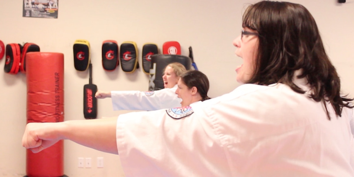 Karate master starts karate class for people with disabilities