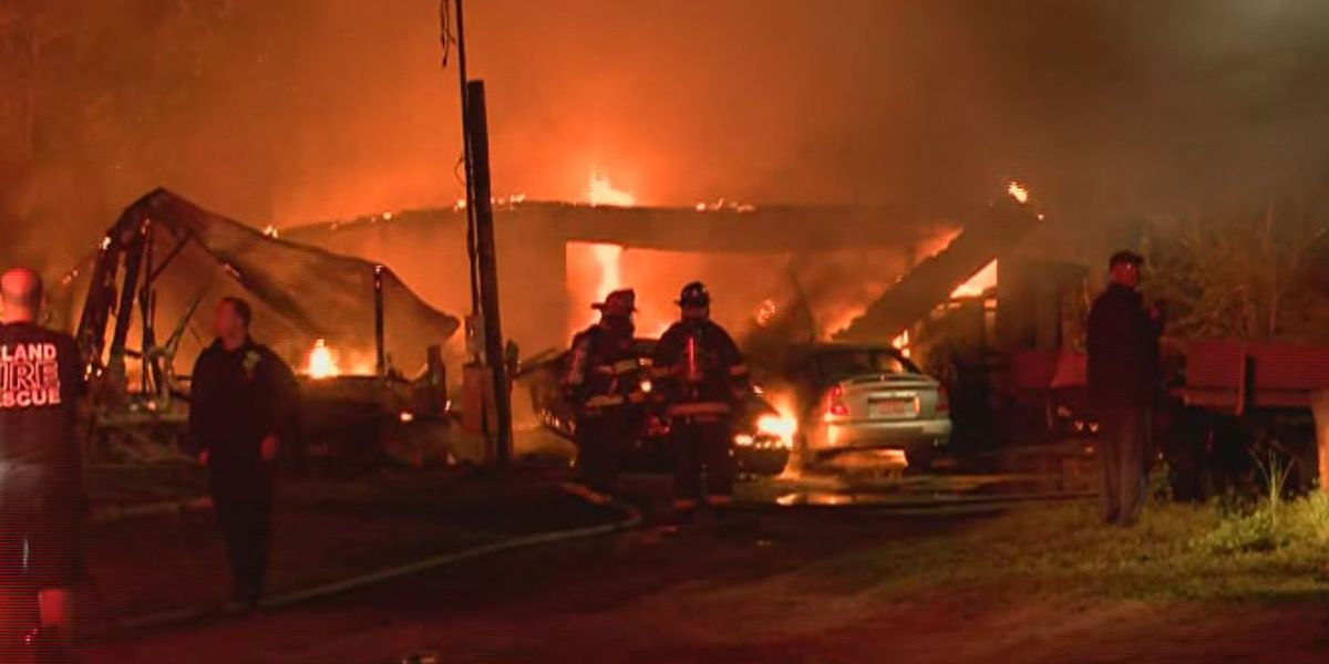 Crews respond to mobile home fire in Brunswick County