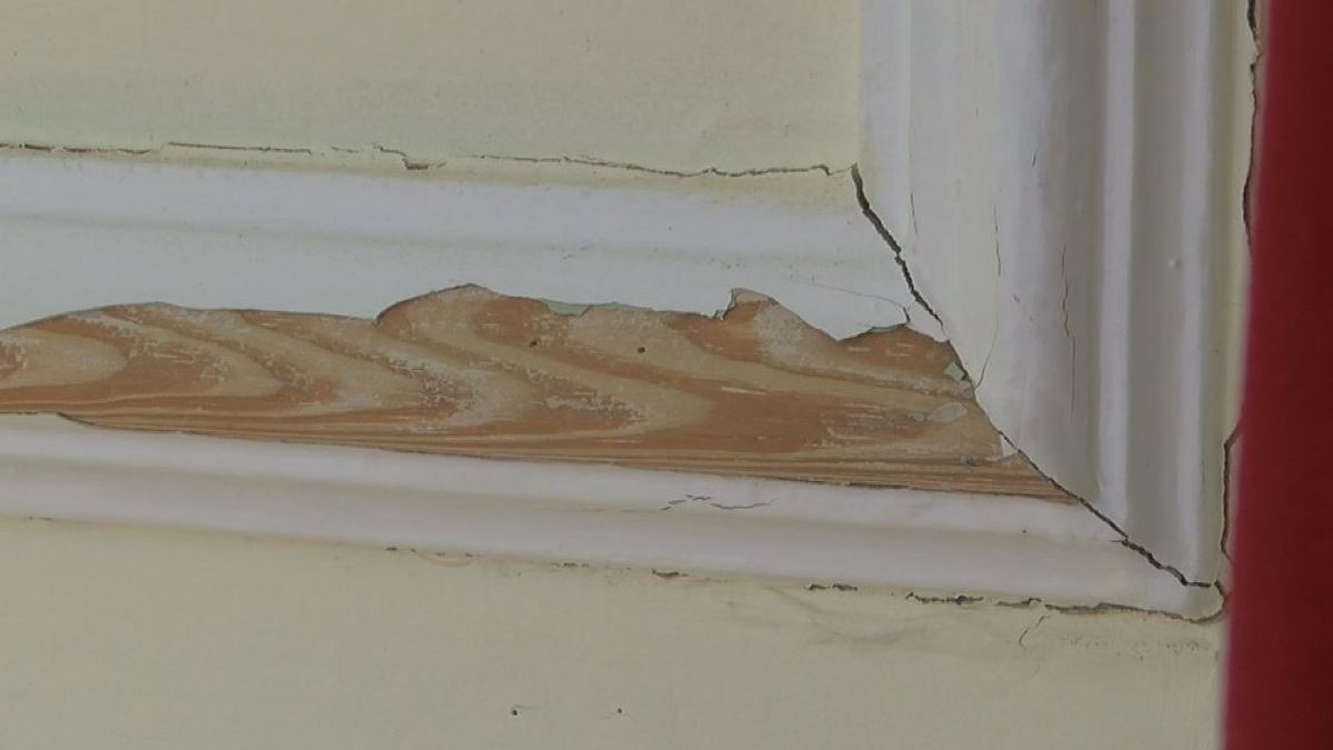 Highway 6: Inside the damaged Pender County Courthouse in Burgaw