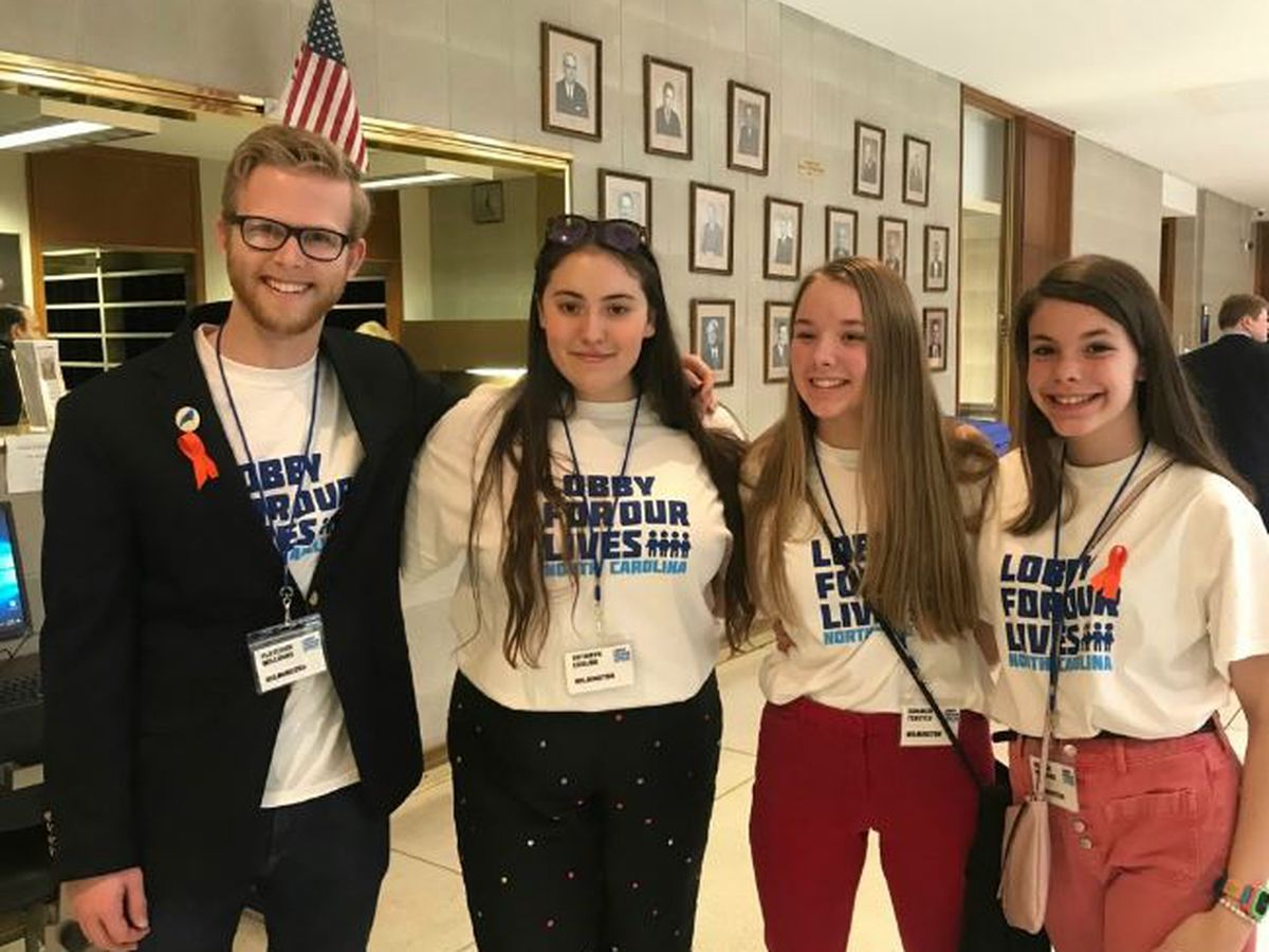 Wilmington students lobby in Raleigh for 'common sense' gun legislation