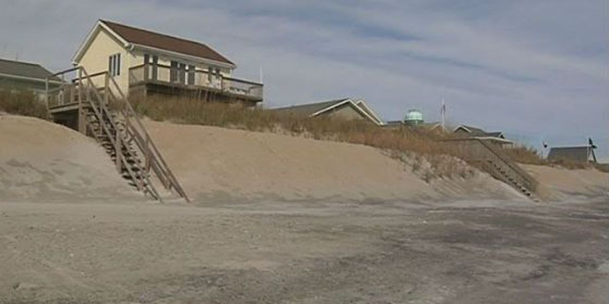 Topsail Beach reimbursed $18.8 million for hurricane-related beach damage