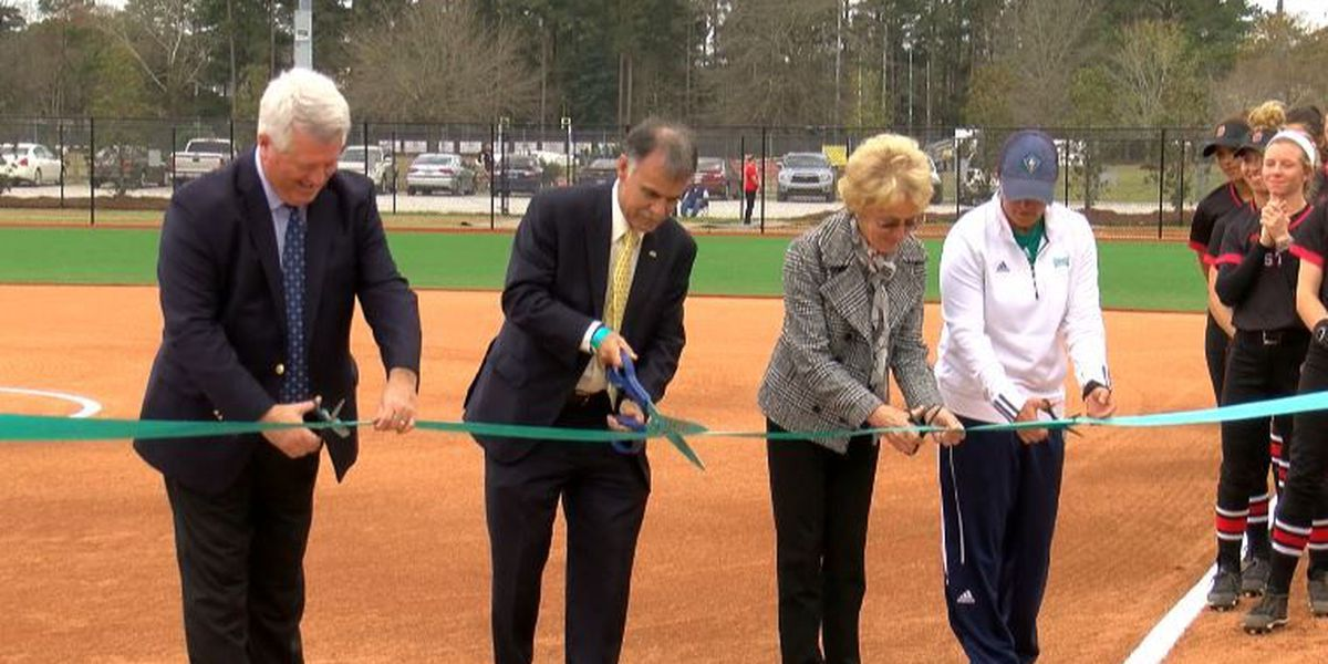 UNCW officially reopened Boseman Field with ribbon cutting ceremony