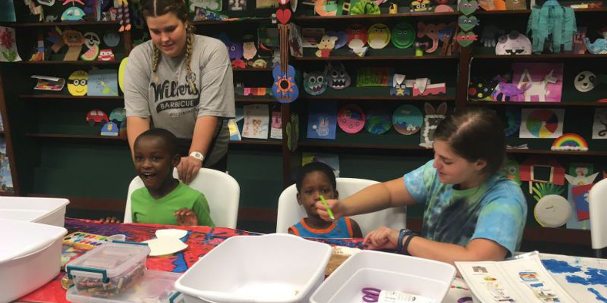 Autism Society summer camp has 40 counselors for 40 campers