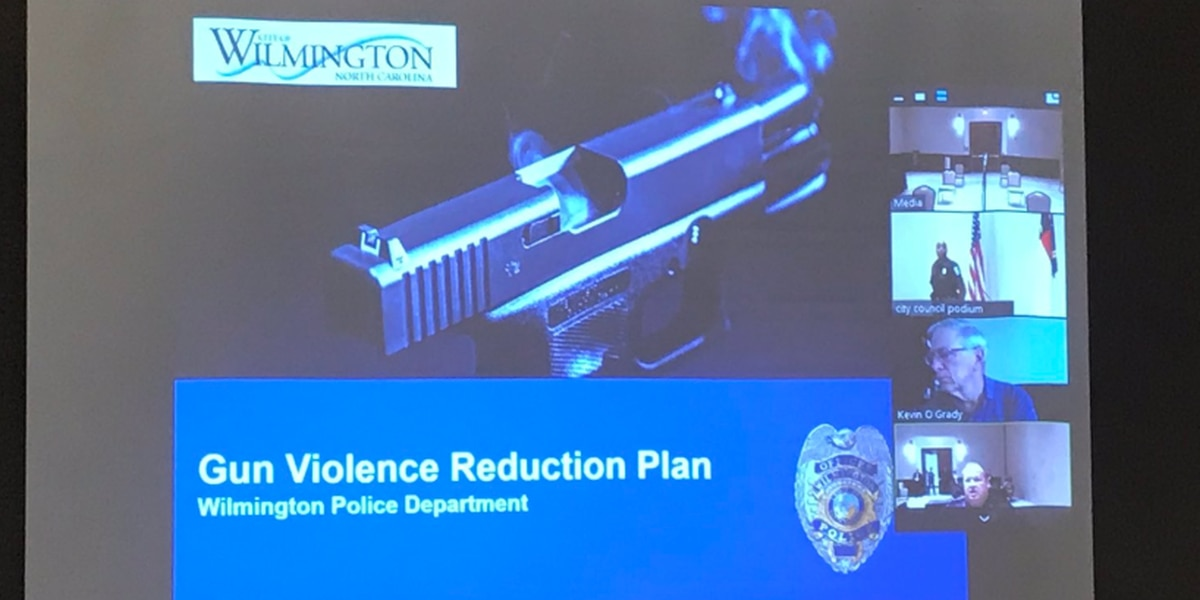 Police officials present plan to reduce gun violence in Wilmington