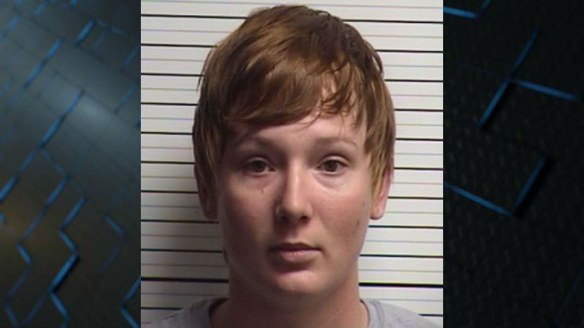 Woman arrested in arson case