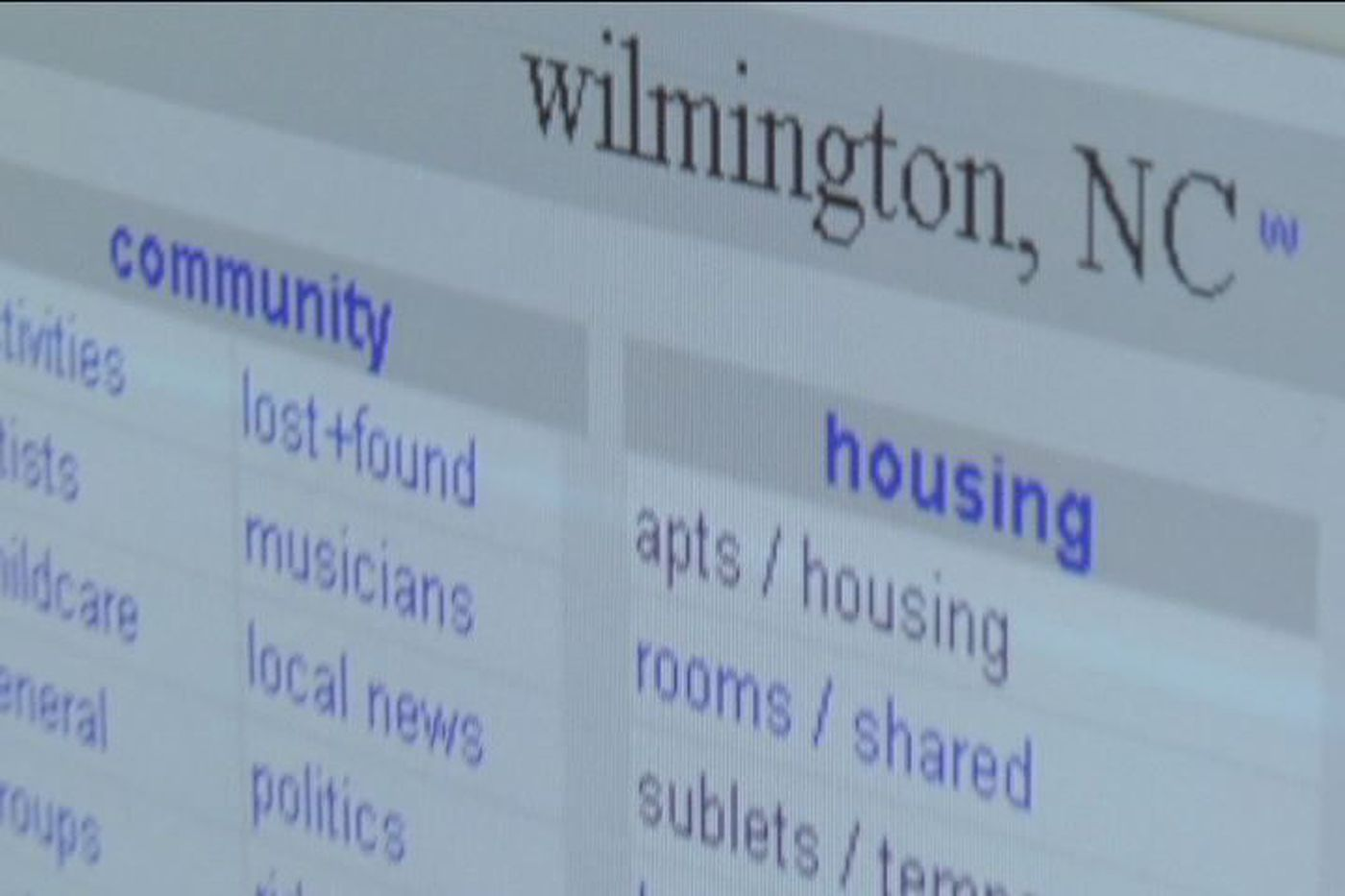 Welcome To Wilmington Craigslist Org Craigslist Wilmington Nc