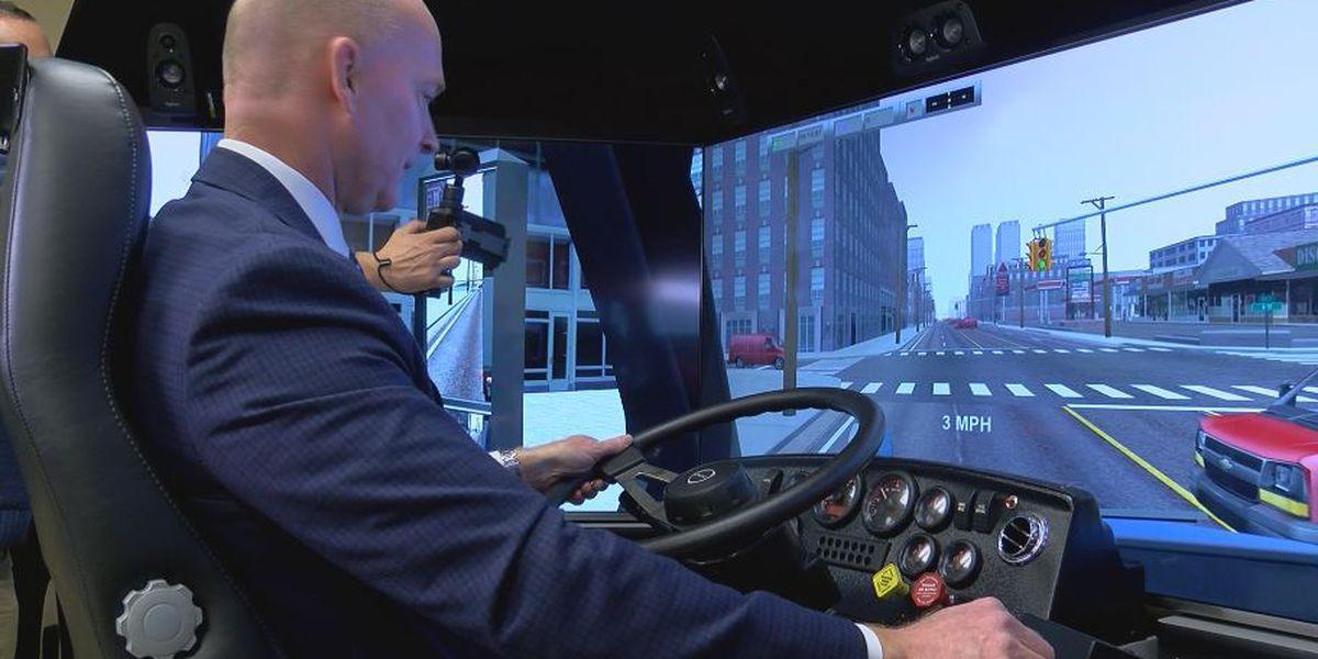 CFCC adds hazardous weather simulator to truck driver training program