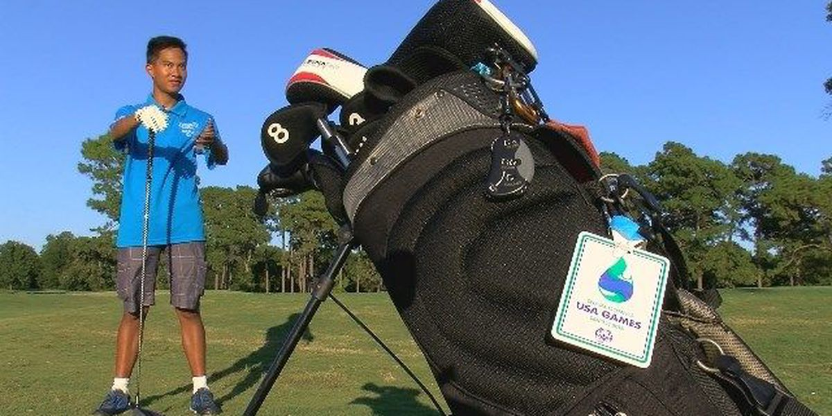 Talented teen brings home gold medal in golf
