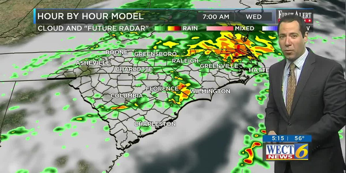 Your First Alert Forecast from Tue. morning, Mar. 24, 2020