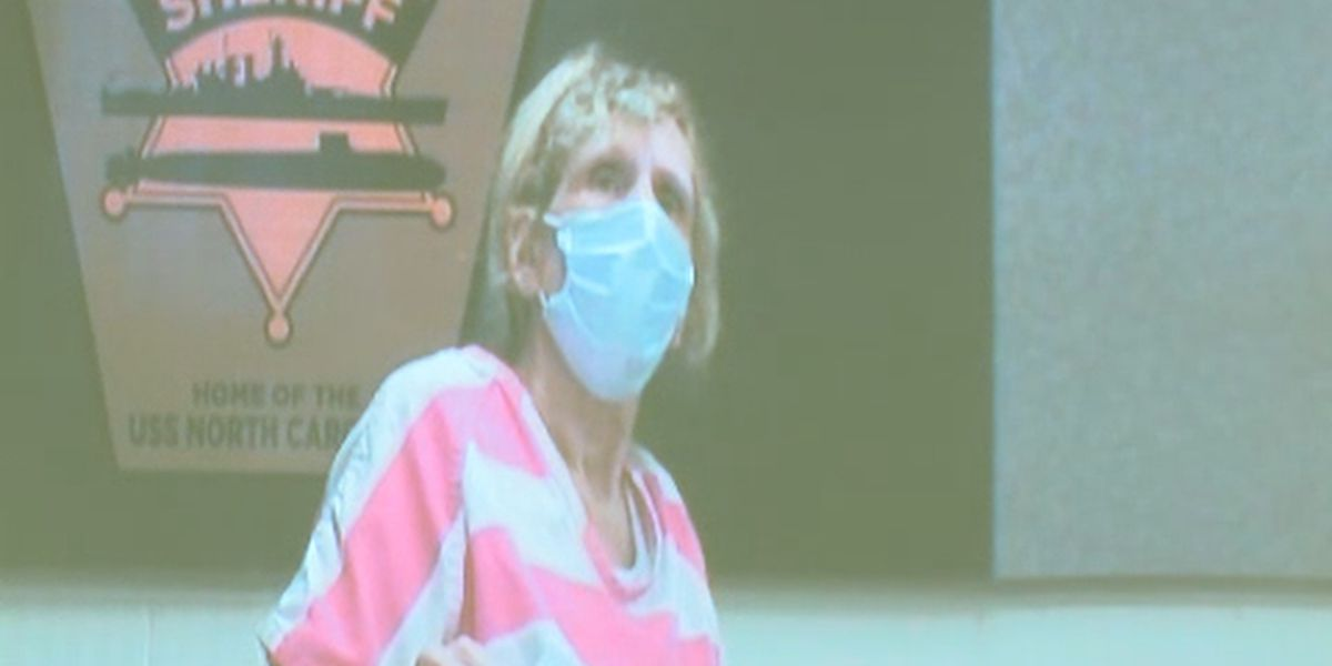 North Carolina woman accused of poisoning husband, stepson makes court appearance