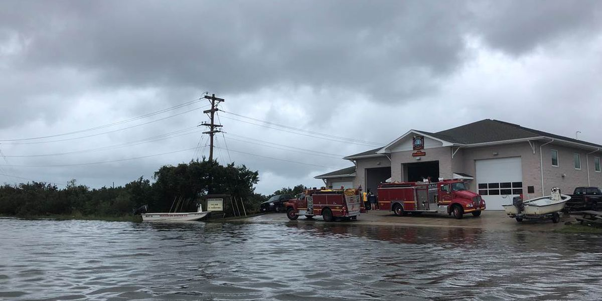 Air evacuations planned for Ocracoke after catastrophic flooding