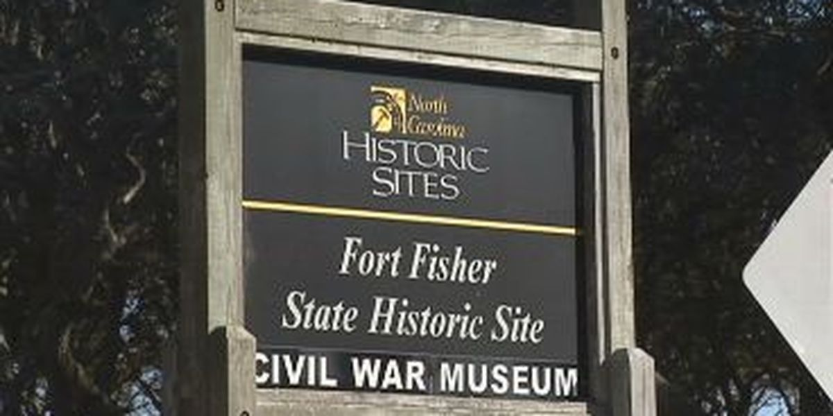 Confederate cannons moved to Fort Fisher