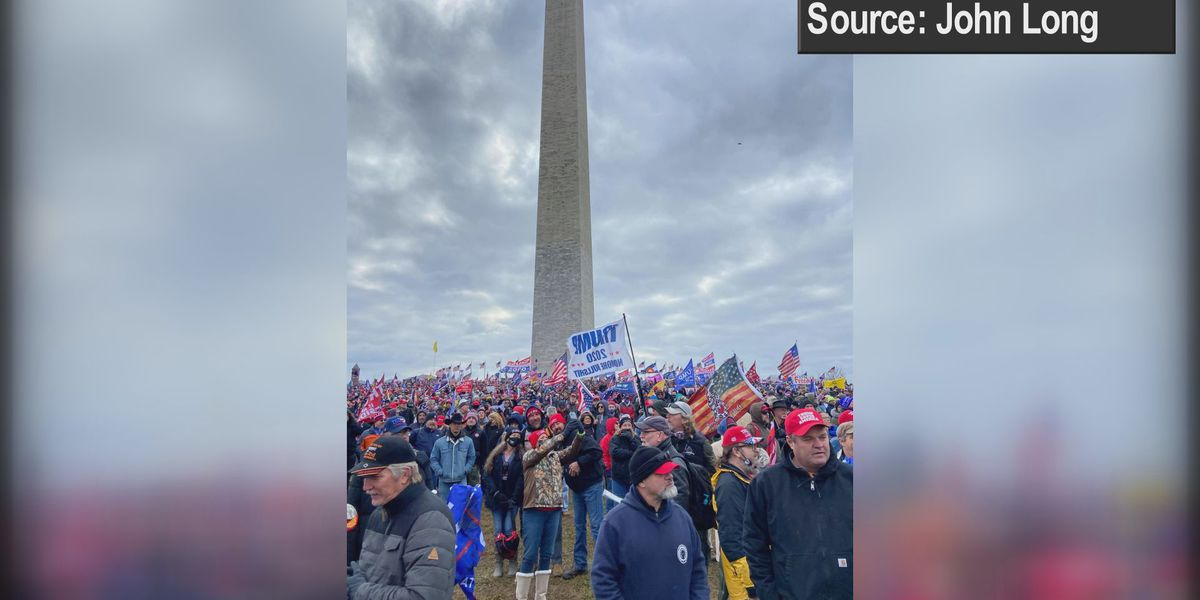 """""""No one that I know would storm the capitol"""": Trump supporter on visit to D.C. Wednesday"""