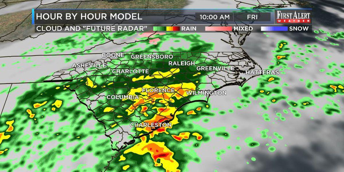 First Alert Forecast: another slug of rain soon