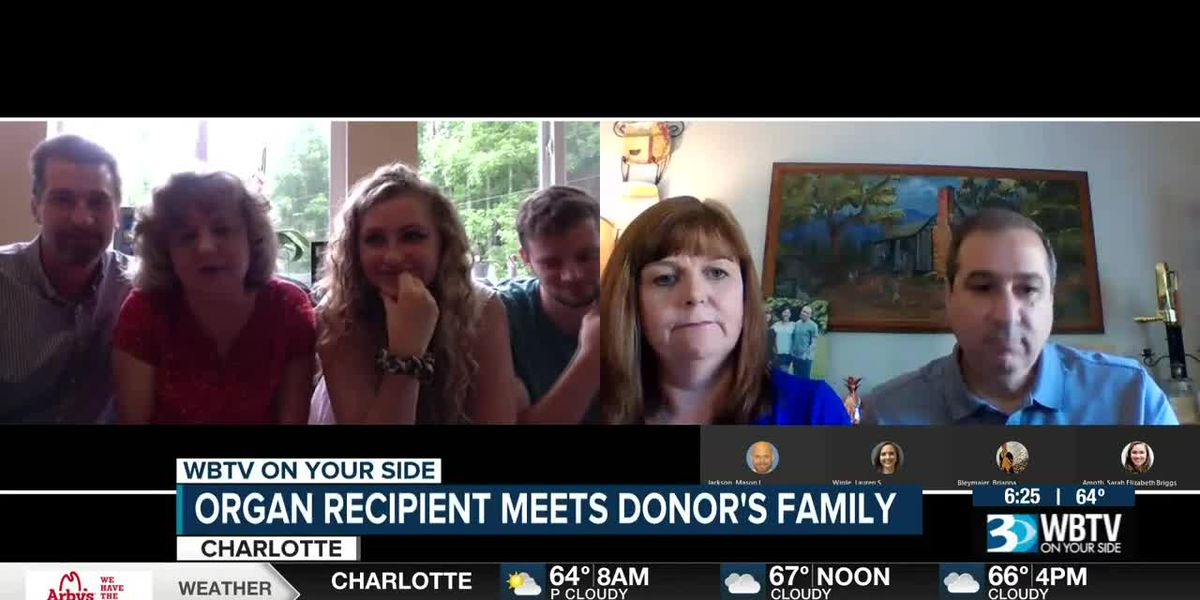 Families connected through organ donor meet for first time