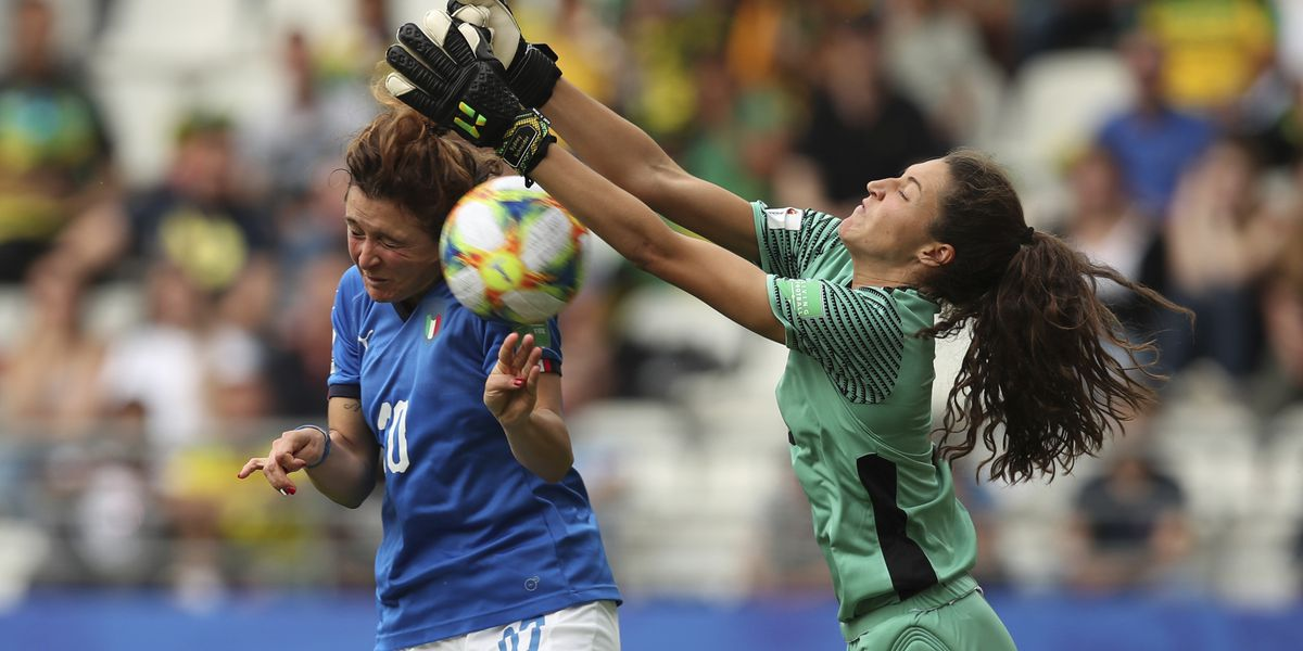 Girelli's Hat Trick Lifts Italy Into Next Round of World Cup