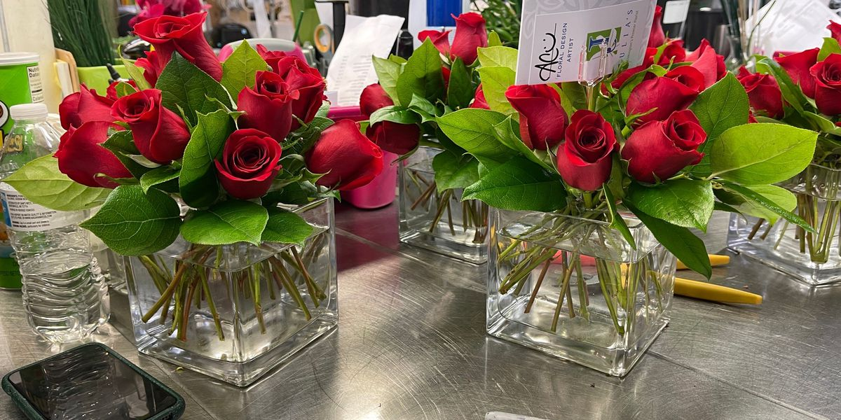 Some florists seeing a COVID-related surge in sales this Valentine's Day