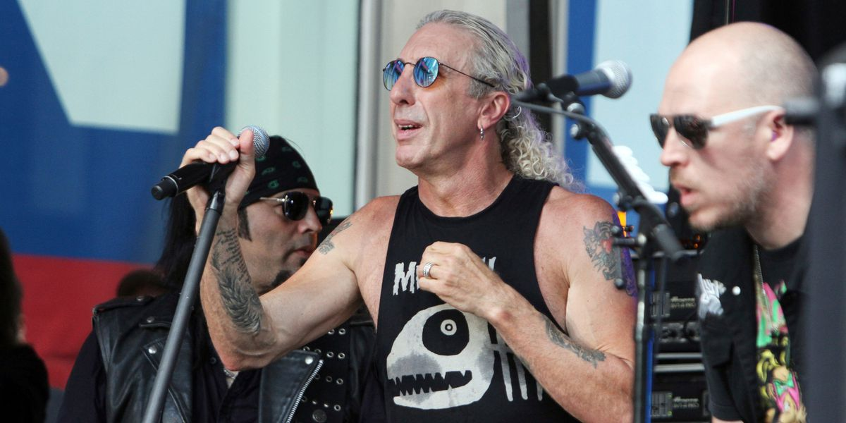 Twisted Sister singer to anti-maskers: Don't use our song