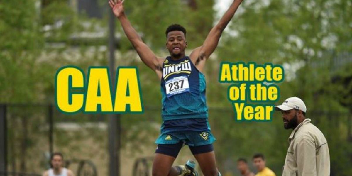 Holmes shares CAA track and field athlete of the year honor