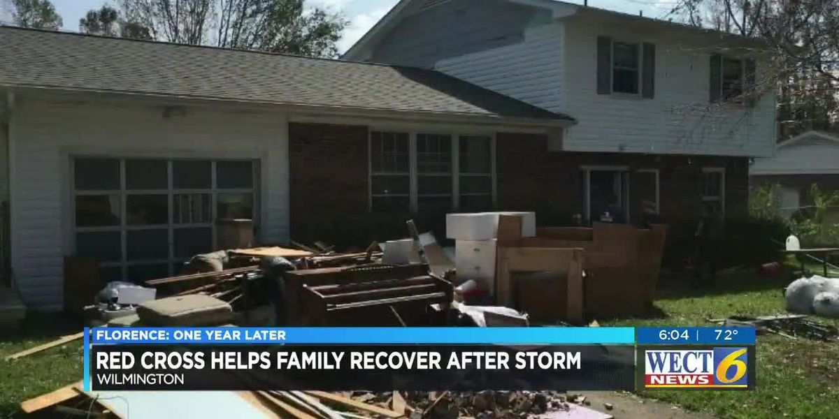 Family displaced by Florence says Red Cross money came as a surprise