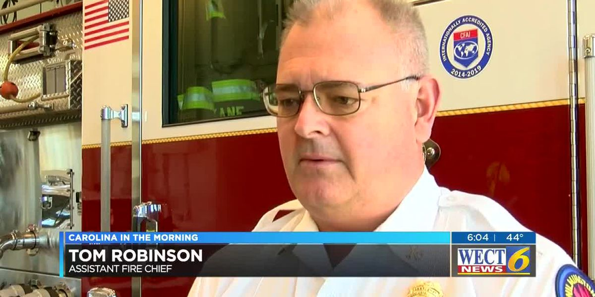 Wilmington Fire Department gives tips on staying safe as the holidays approach