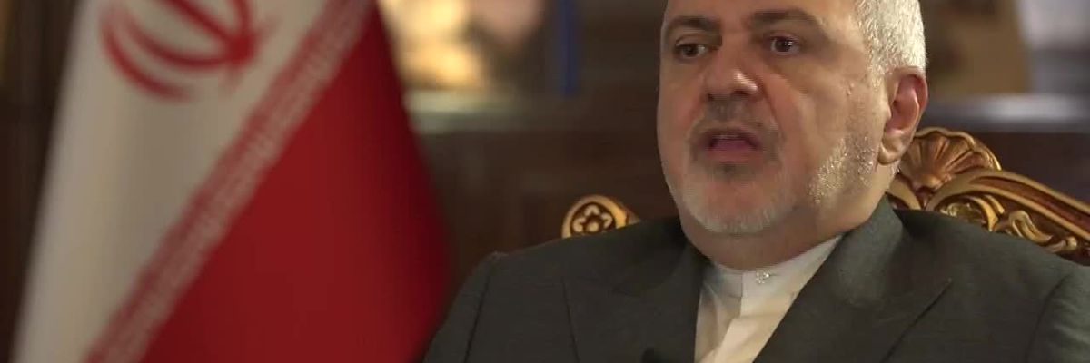 Iran FM Zarif threatens 'all-out war' if attacked by US