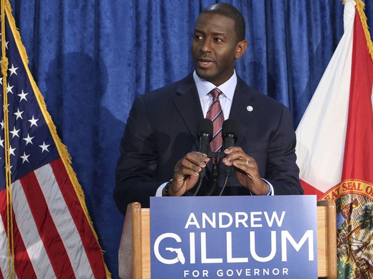 Gillum ends campaign for Florida governor after recount shows DeSantis still ahead