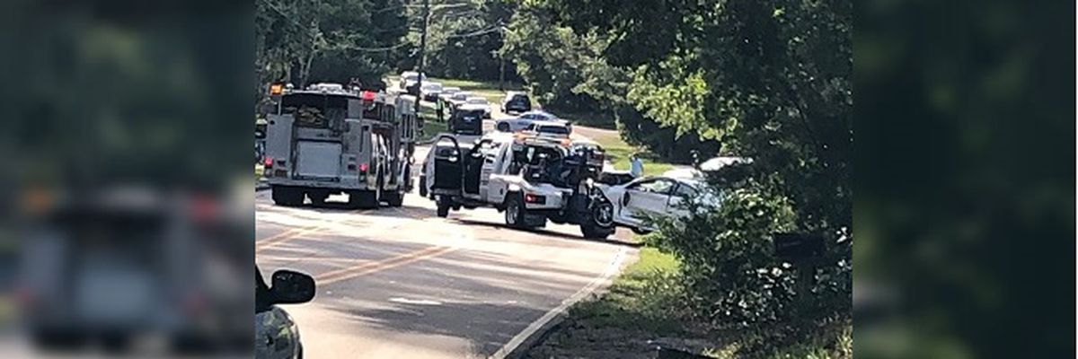 Two hospitalized after 3-car crash in Wilmington