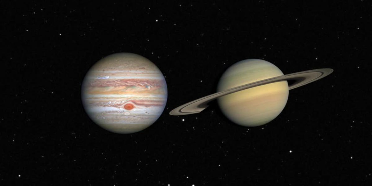 Jupiter and Saturn near for great conjunction on Dec. 21