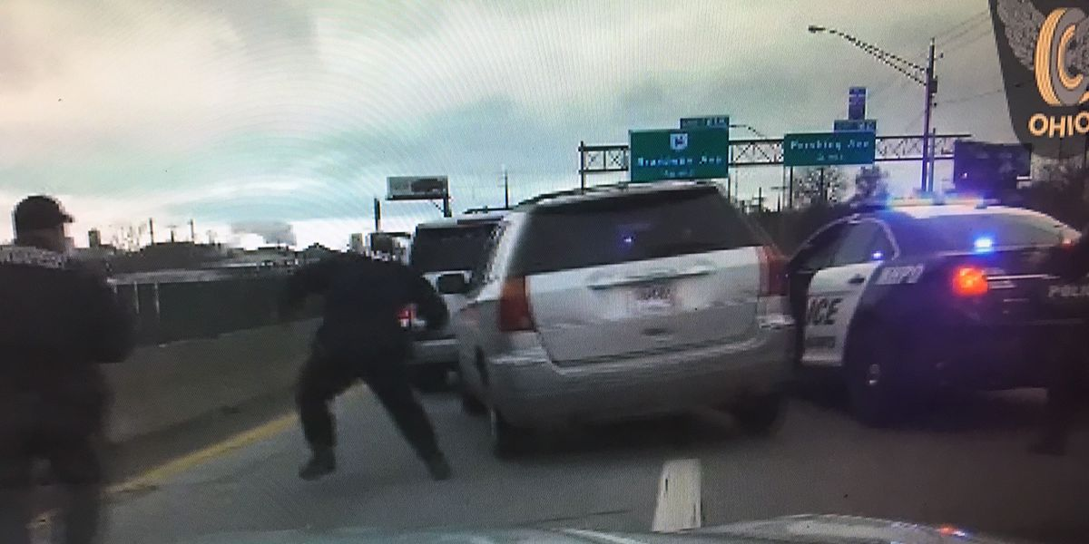 Ohio woman tells police she didn't stop during high-speed chase because she was late for work