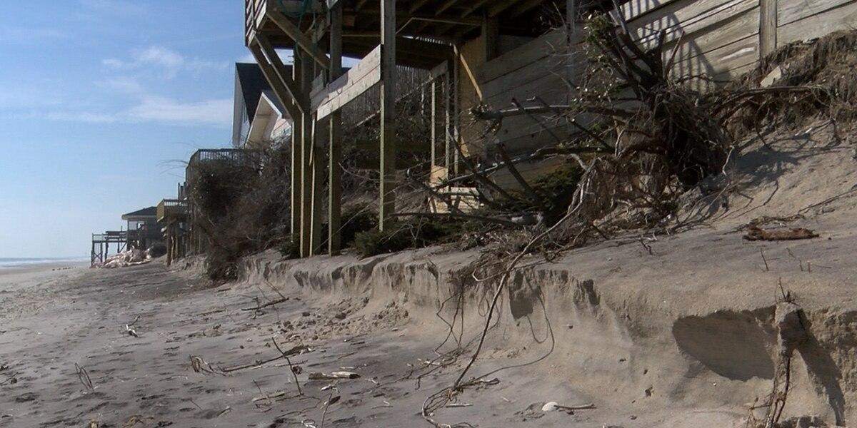 Surf City halts dune restoration project before completion