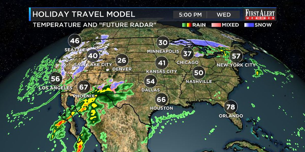 First Alert Forecast: balmy Wednesday then temps turn down
