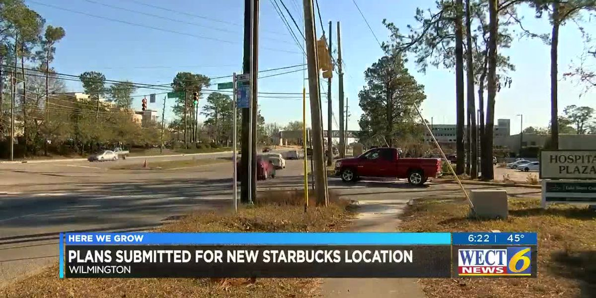 Plans submitted for Starbucks near New Hanover Regional Medical Center